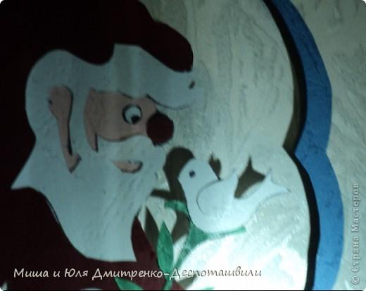 В руках нашего сегодняшнего Дедушки Мороза даже веточки расцветают - до того он добрый и нежный!  фото 3