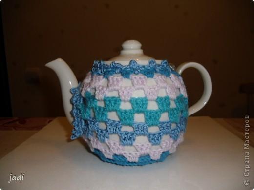 Теплый чехол на чайник. фото 1