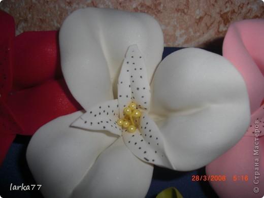 Букет невесты-дублер.Цветы из  замечательного фоамирана. фото 3