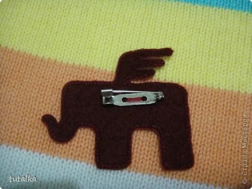 а этот слоник обшит белой нитью!вам какой больше нравится?мааааленький такой,всего 4,5 см;) фото 3