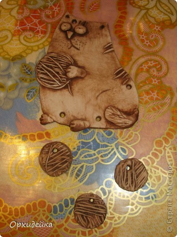 В подарок подружке, которая внезапно увлеклась вязанием! ) Повторюшка СМ! фото 4