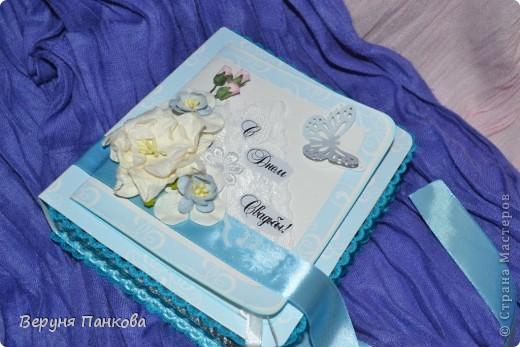 Коробочка для денежного подарка на свадьбу фото 7
