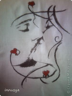 """""""Поцелуй""""-одна из моих последних работ фото 1"""