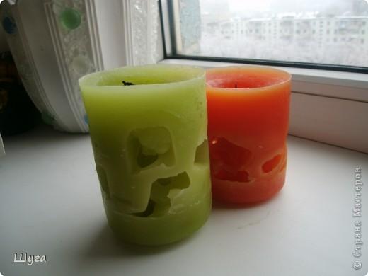 Мои первые свечи (не судите строго) :) фото 2