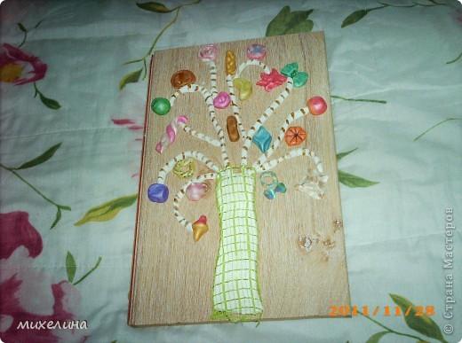 конфетное дерево из соленого теста фото 2
