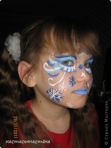 маска для снежной королевы фото 2