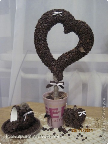 Вот у всех кофейные деревья разные.. а у меня... гигант!!! вот ведь какая, сразу режу а потом меряю((( фото 1