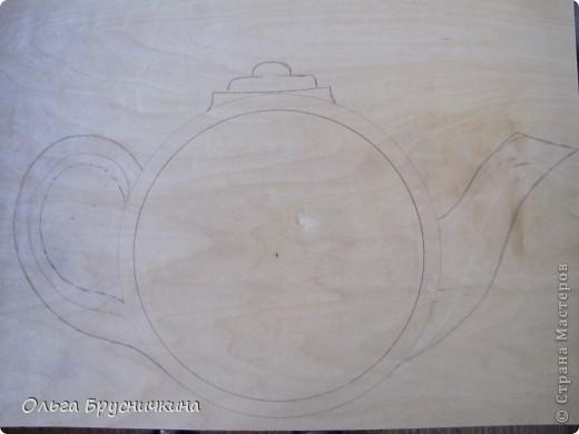 Часы делала на кухню для родителей. фото 2