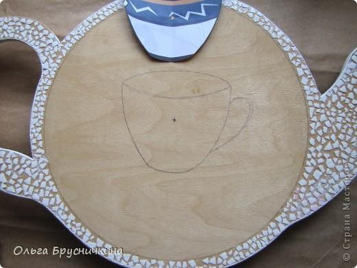 Часы делала на кухню для родителей. фото 6