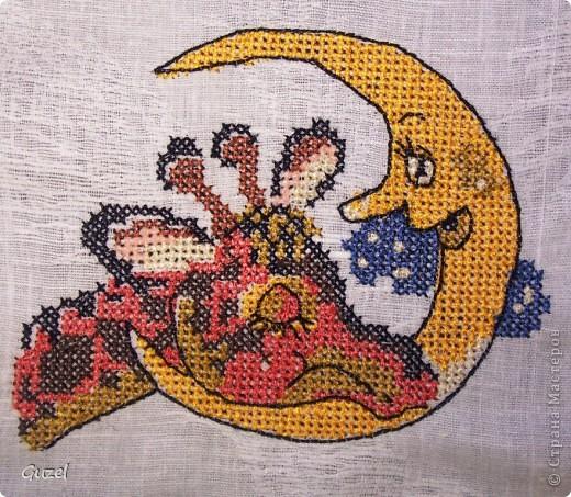 Ангелочек (компьютерная машинная вышивка крестиком) фото 8