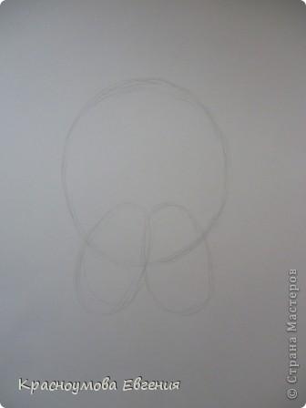 Здравствуйте! Я собираюсь показать вам, как я рисую бигля! Берите карандаш, бумагу и резинку! Приступим... фото 2