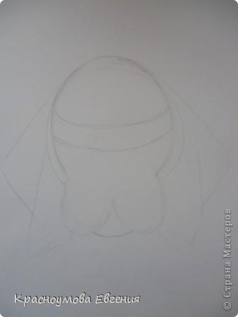 Здравствуйте! Я собираюсь показать вам, как я рисую бигля! Берите карандаш, бумагу и резинку! Приступим... фото 4