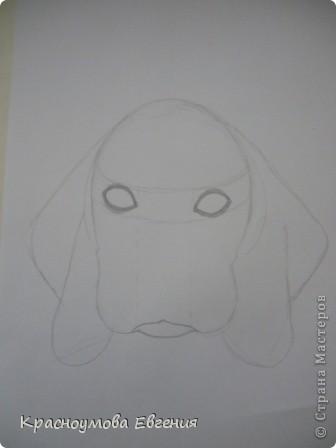 Здравствуйте! Я собираюсь показать вам, как я рисую бигля! Берите карандаш, бумагу и резинку! Приступим... фото 11