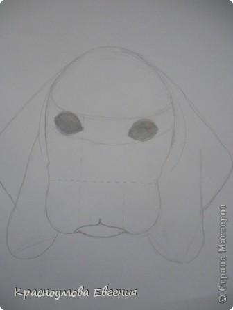 Здравствуйте! Я собираюсь показать вам, как я рисую бигля! Берите карандаш, бумагу и резинку! Приступим... фото 13