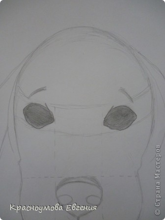 Здравствуйте! Я собираюсь показать вам, как я рисую бигля! Берите карандаш, бумагу и резинку! Приступим... фото 16