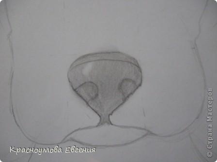 Здравствуйте! Я собираюсь показать вам, как я рисую бигля! Берите карандаш, бумагу и резинку! Приступим... фото 21