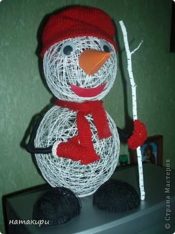 снеговик (повторюшка) фото 1