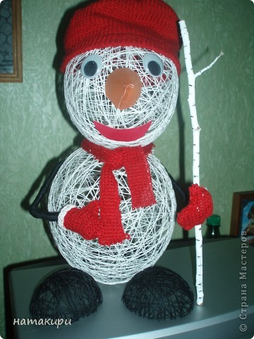 снеговик (повторюшка) фото 2