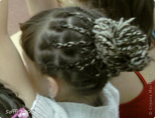 Причёска моя......