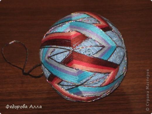 Мои темари, выполненные по урокам сайта http://temari.ru/ фото 4
