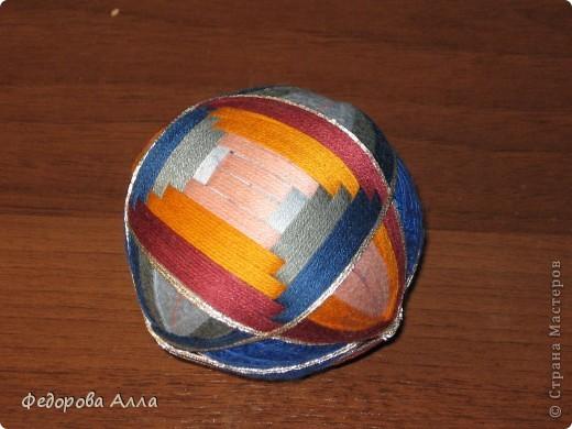 Мои темари, выполненные по урокам сайта http://temari.ru/ фото 6