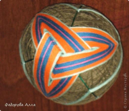 Мои темари, выполненные по урокам сайта http://temari.ru/ фото 7