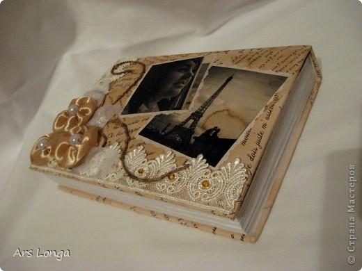 Шкатулка на подарок девушке, которая очень любит читать )) надеюсь, она на меня не обидится, что я так с книгой поступила )))) фото 1