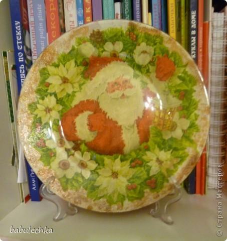 Вот так сверкает новогодняя тарелка! фото 8