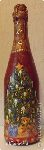Бутылки, салфеточки, краски, стикеры... фото 4