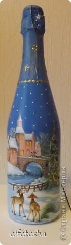 Бутылки, салфеточки, краски, стикеры... фото 6