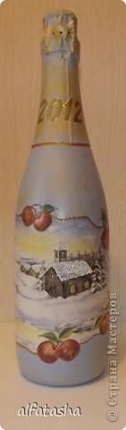 Бутылки, салфеточки, краски, стикеры... фото 2