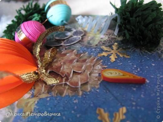 Увидев у Натальи Гайнет её подковки, захотелось и самой сделать что-нибудь НОВОГОДНЕЕ. фото 10