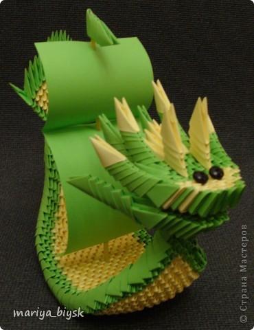 Драконы модульное оригами фото 3