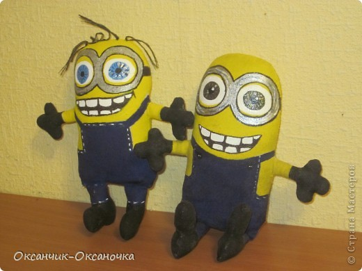 Сшила для своих сыночков ( двойняшки Тёма и Дёма ) такие игрушки -)))  фото 1