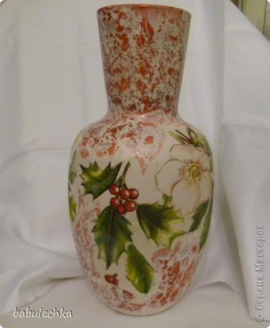 На цветы и листья-сверкающий декупажный клей фото 3