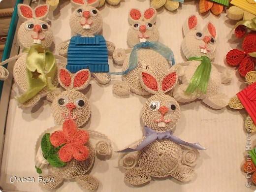 Сделали с детьми этих чудесных зайцев и кис, увидев их у Sahalin. Как увидела их - была в восторге. Долго собирались, и вот сделали на радость!Спасибо огромное за Ваших чудесных зверушек!  фото 2