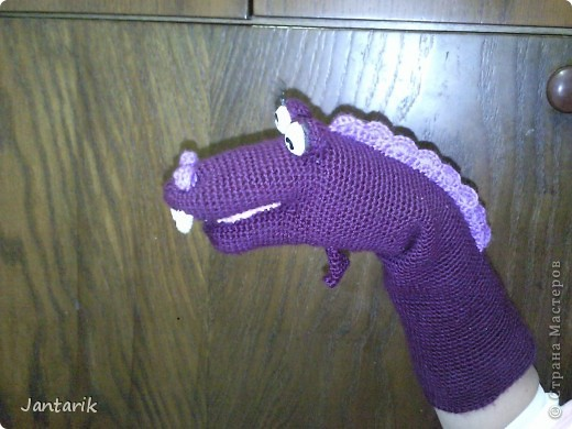 В этом году я продолжила учиться создавать кукол.На первом же занятии у меня получился вот такой почти жираф. Кукла одевается на руку... фото 7