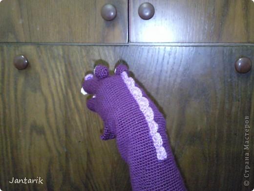 В этом году я продолжила учиться создавать кукол.На первом же занятии у меня получился вот такой почти жираф. Кукла одевается на руку... фото 8