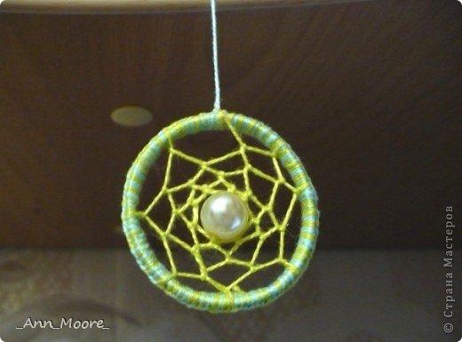 моя первая работа, диаметр кольца 4 см фото 1