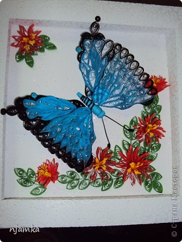 http://increations.blogspot.com/2009/03/framed-quilled-butterly.html фото 1