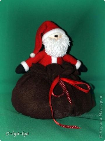 Дед Мороз а мешке вкусняшки ;-) фото 1