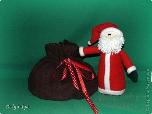 Дед Мороз а мешке вкусняшки ;-) фото 2