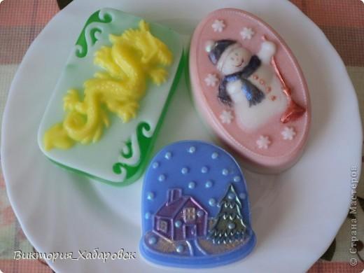 дракон корица,снеговик-мандарин и шоколад,домик-бергамот фото 1
