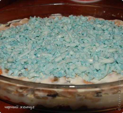 "салат ""Голубая лагуна"" фото 5"