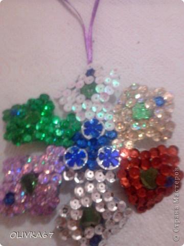 Мои первые бабочки для елки  фото 5