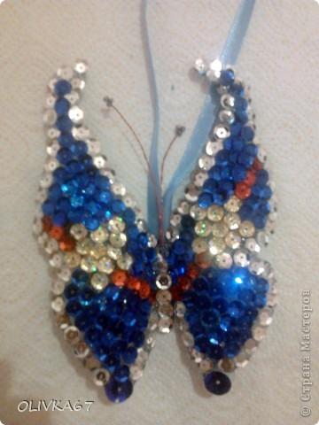 Мои первые бабочки для елки  фото 8