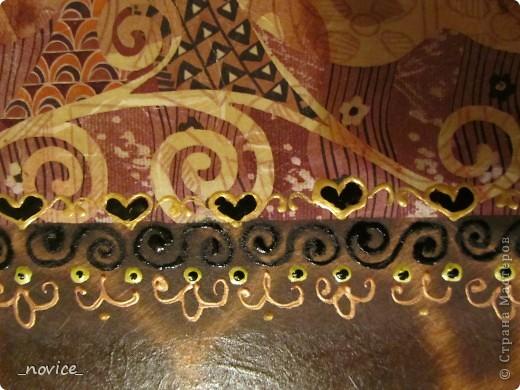 Икейский столик немножко преобразился фото 4