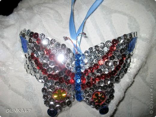 Мои первые бабочки для елки  фото 2