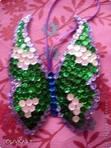 Мои первые бабочки для елки  фото 3