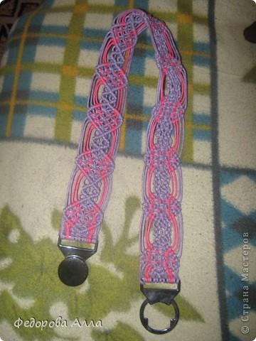 Чехол для сотового телефона (шнур вощеный) фото 2